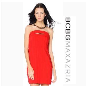 NWT! BCBG MAXAZRIA STRAPLESS DRESS